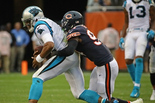 Snap counts, stats and more: Chicago Bears vs Carolina Panthers