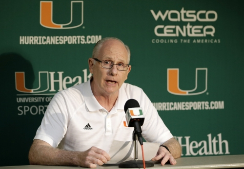 Miami's Larranaga says he is 'Coach-3' in corruption probe The Associated Press