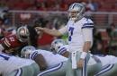 Cooper Rush makes NFL debut, heads into Cowboys bye as No. 2 QB