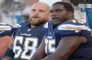 Chargers left guard Matt Slauson out for season with biceps injury