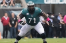 Philadelphia Eagles left tackle Jason Peters carted off with knee injury