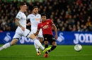 Swansea City 0-2 Manchester United: Lingard double sends Reds through