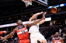 NBA: Officials missed late foul call in Nuggets' loss to Wizards