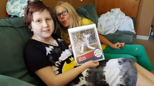 Rizzo sends jersey, photo to cancer patient, 12, after hers was taken