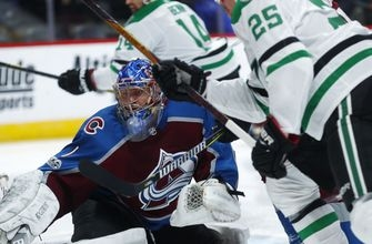 Nieto's hat trick lifts Avalanche to 5-3 win over Stars (Oct 24, 2017)