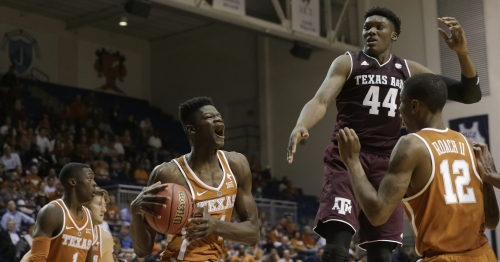 Texas 73, Texas A&M 69: Longhorns capture charity exhibition thriller over rival Aggies