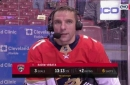 Radim Vrbata on getting first 3 goals of season in one night