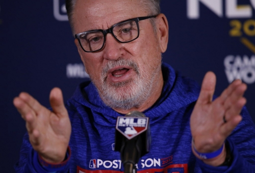 MORRISSEY: Sugary Joe Maddon goes from praising coaches to axing them