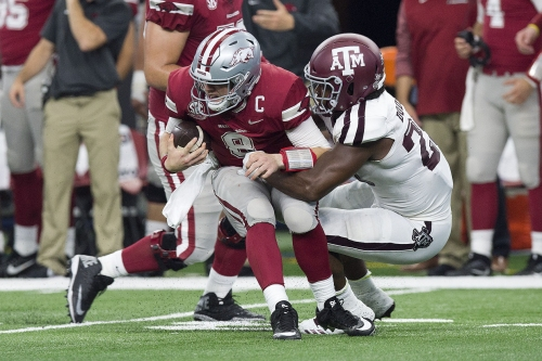 Dodson, A&M defense improving together