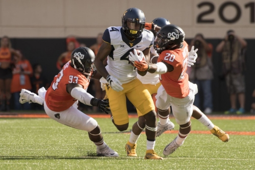 College Football Saturday: #11 Oklahoma State Visits #22 West Virginia in a Big 12 Matchup