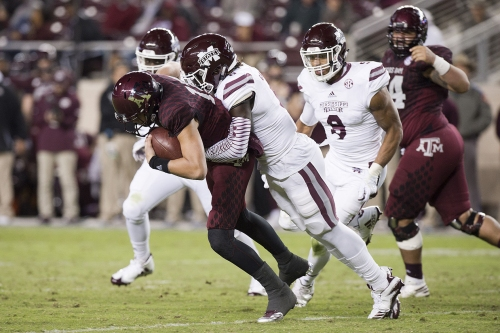 Lackluster offense leads to Aggies' 35-14 loss to Bulldogs