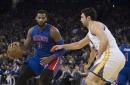 Warriors go for four against Pistons