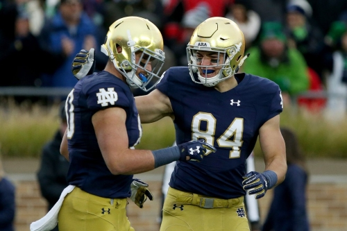 No. 5 Notre Dame opens as 2 touchdown favorite over Wake Forest