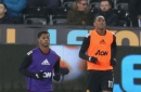 Manchester United players Anthony Martial and Marcus Rashford could start vs Benfica