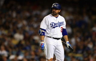 Dodgers Ask A-Gon To Stay On Sidelines During World Series