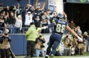 Listen: Steve Raible just about loses his voice on Jimmy Graham's game-winning touchdown