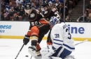 Marleau helps Maple Leafs end skid with 3-1 win at Ducks (Nov 01, 2017)