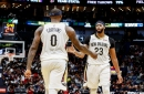Anthony Davis and DeMarcus Cousins are holding up their end of the bargain