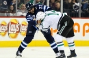 Recap: Stars Lose After a Physical and Chippy Game In Winnipeg