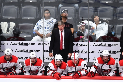 Carolina Hurricanes Drop Third Straight Game in 5-3 Loss to Avalanche