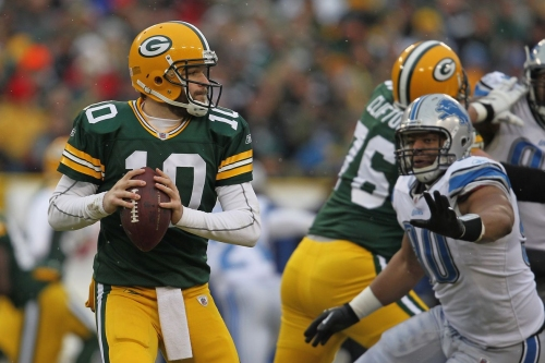 Lions favored in Green Bay for just second time in at least 15 years