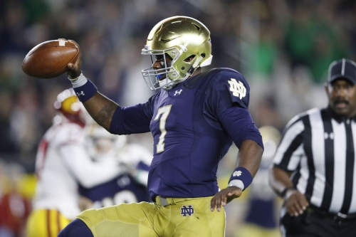 How to Watch: Wake Forest (5-3) @ No. 3 Notre Dame (7-1) (Time, TV Channel, Online Streaming, Odds)