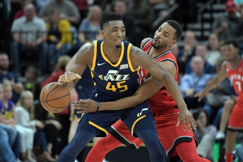 Raptors end road trip with 109-100 win against Jazz