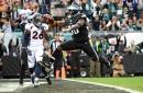 Broncos-Eagles second quarter update: Denver implodes as season slips away