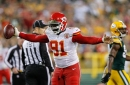 Tamba Hali is active and so is the Chiefs starting offensive line