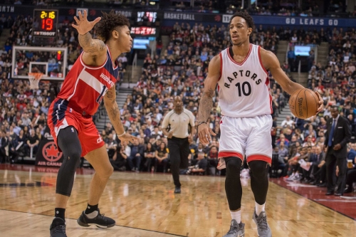 Raptors vs. Wizards Game Thread: Hello from home
