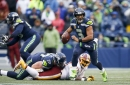 PFF stats in Seahawks loss: Russell Wilson, Kirk Cousins have opposite results under pressure