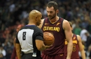 Kevin Love practices on Monday, back to normal routine after illness