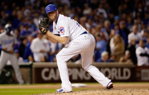 Cubs make qualifying offers to Jake Arrieta, Wade Davis; add reliever
