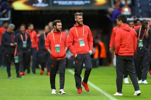 Real Madrid interested in Juan Mata and David de Gea