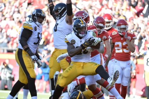 Several Steelers among the offensive league-leaders at the midway point