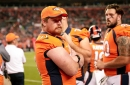 Matt Paradis should play quarterback for the Broncos