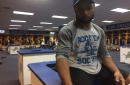 Lions' Golden Tate is wearing a Rock 'Em Sock 'Em Robots shirt, and you can too!