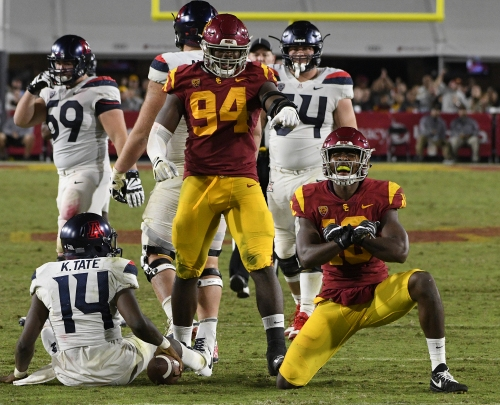 Turnaround for USC's defense has come with more pressure
