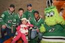 Dallas Stars Visit Sick Children At Texas Scottish Rite Hospital