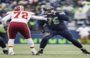 Seahawks left tackle Duane Brown leaves game vs. Cardinals with ankle injury