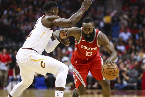 James Harden's triple-double leads Rockets over Cavs