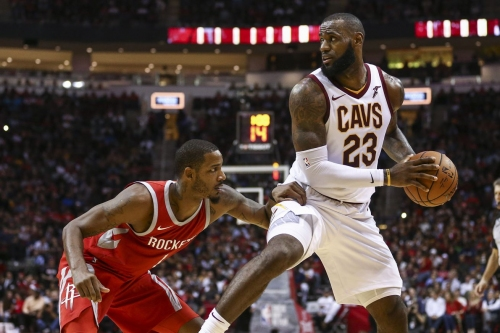 Cleveland Cavaliers vs. Houston Rockets player grades