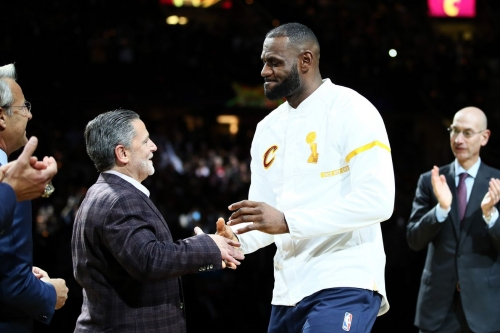 LeBron James is interested in owning the Cleveland Cavaliers