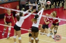 Volleyball: #6 Nebraska Sweeps Maryland