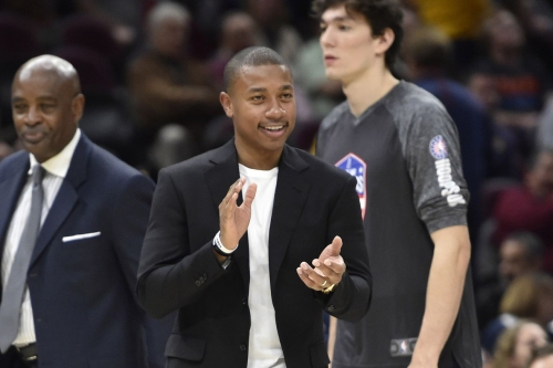 Isaiah Thomas thinks he'll adjust to LeBron James quickly