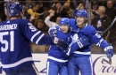 Patrick Marleau scores in OT, Maple Leafs beat Bruins 3-2 (Nov 10, 2017)