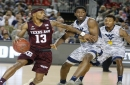 No. 25 Aggie men race past No. 11 Mountaineers 88-65 in Germany