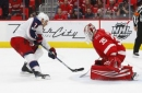 Johnson, Blue Jackets beat Red Wings 2-1 in shootout (Nov 11, 2017)