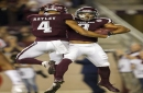 Starkel, Texas A&M roll past New Mexico, 55-14