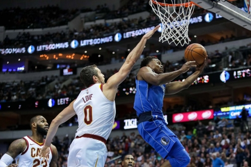 Cleveland Cavaliers at Dallas Mavericks player grades